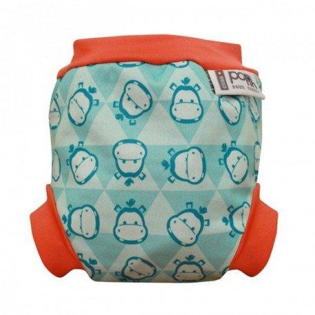 Pañal natación Hipopótamo. Pop-In