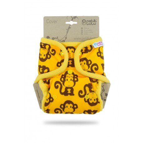 Cobertor Petit Lulu Talla Única (Snaps) - Monkeys (yellow)