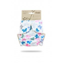 Pañal ajustado Petit Lulu Recien Nacido (Snaps) - Colourful Butterflies