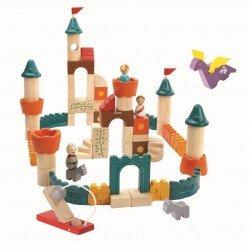 Bloques fantasía castillo medieval PlanToys