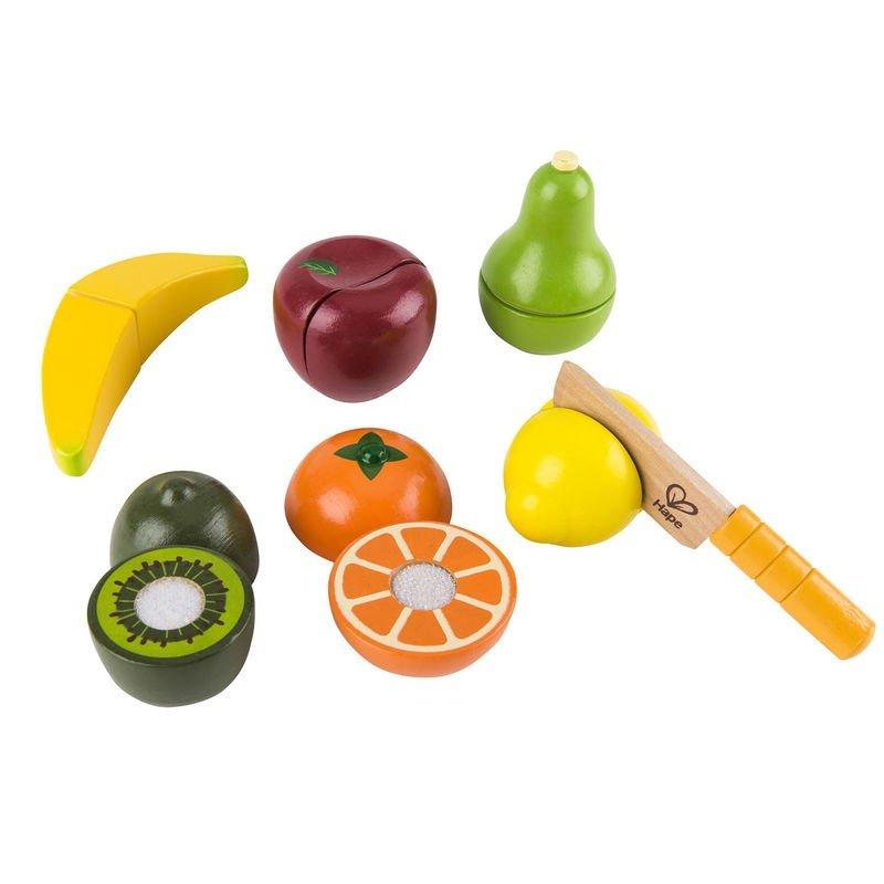Set de frutas y cuchillo hape for Cuchillo de fruta
