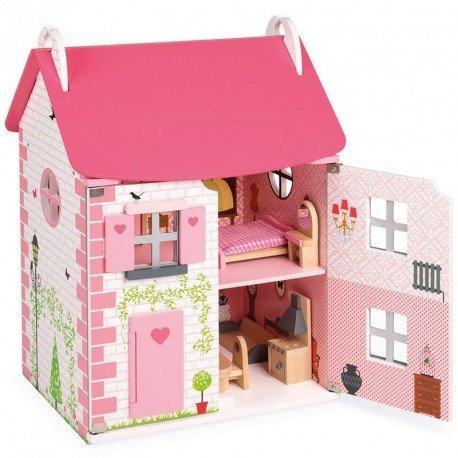 Casa de muñecas de madera mademoiselle