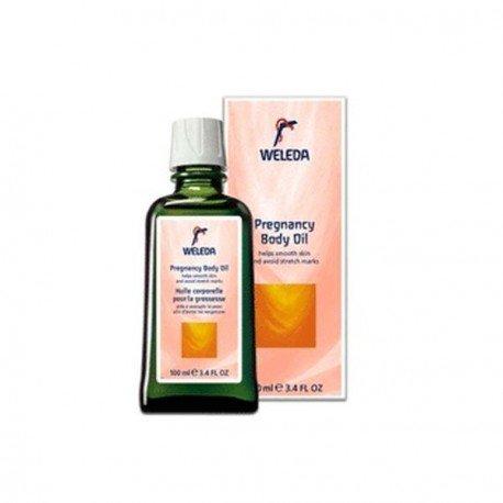 Aceite de masaje antiestrias para mamá. Weleda