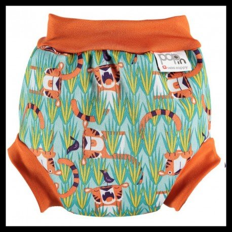 Pañal natación Tiger Oswald and bo. Bañador Pop In