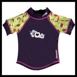Camiseta UV Pop In Lala and Bugsy (flamingo)