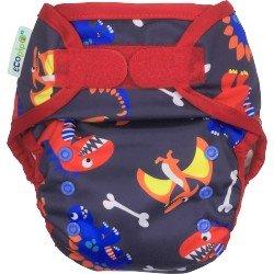 Ecopipo cobertor Talla unica. Velcro.Dinosaurios