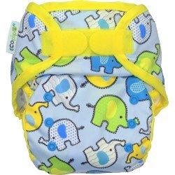 Ecopipo cobertor Talla unica. Velcro. Elefantes