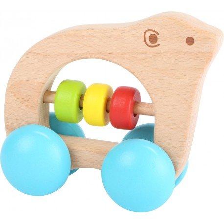 Sonajero oso con ruedas