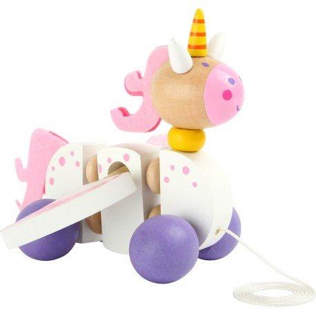 Unicornio para arrastrar Luna