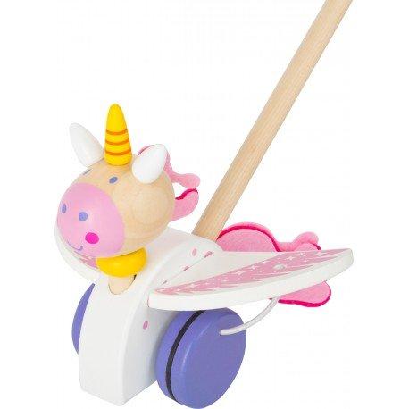 Luna el Unicornio para empujar