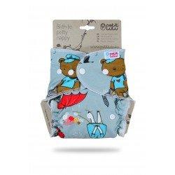 Pañal ajustado Petit Lulu (Snaps) -Animals On Trip