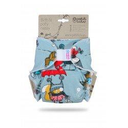 Pañal ajustado Petit Lulu (Velcro) - Animals On Trip