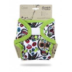 Cobertor Petit Lulu Talla Única (Velcro) - Mexican Skulls (on white)