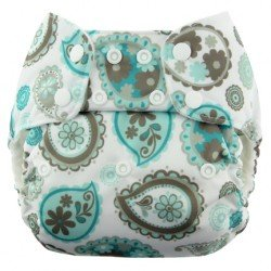 Pañal Blueberry Deluxe Paisley corchetes