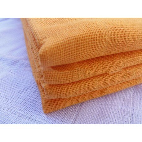 Gasa 100% algodón 70x70 cm - Naranja