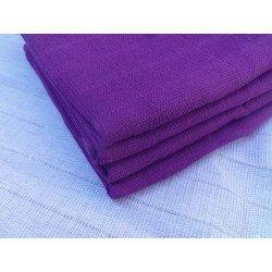 Gasa 100% algodón 70x70 cm - Morado