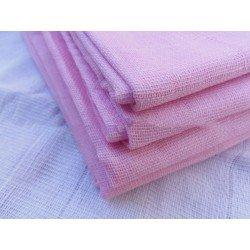 Gasa 100% algodón 70x70 cm - Rosa Pastel