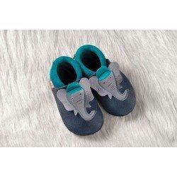 Zapatos Pololo Soft sin suela Jonathan el elefante