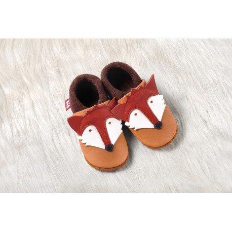 Zapatos Pololo Soft sin suela Fox el Zorro