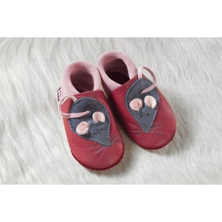 Zapatos Pololo Soft sin suela Minni el ratón