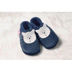 Zapatos Pololo Soft sin suela Kitty el gato