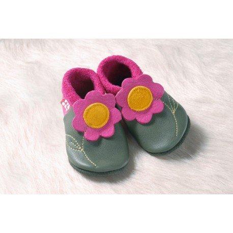 Zapatos Pololo Soft sin suela La flor Jasmin