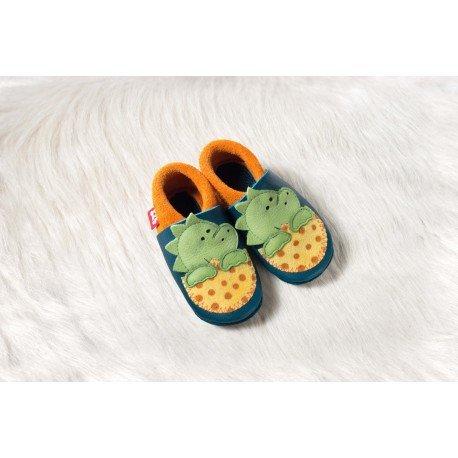 Zapatos Pololo Soft sin suela Dino