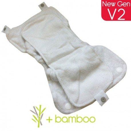 Absorbente día bambú. V2. Pop-In
