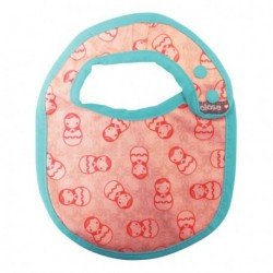 Babero talla S (0-6 meses). Russian Doll. Pop-In