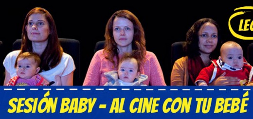 Sesion baby - Al cine con tu bebé - León