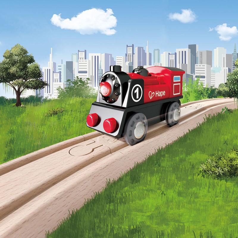 BT170029.3 locomotora de tren de madera Hape