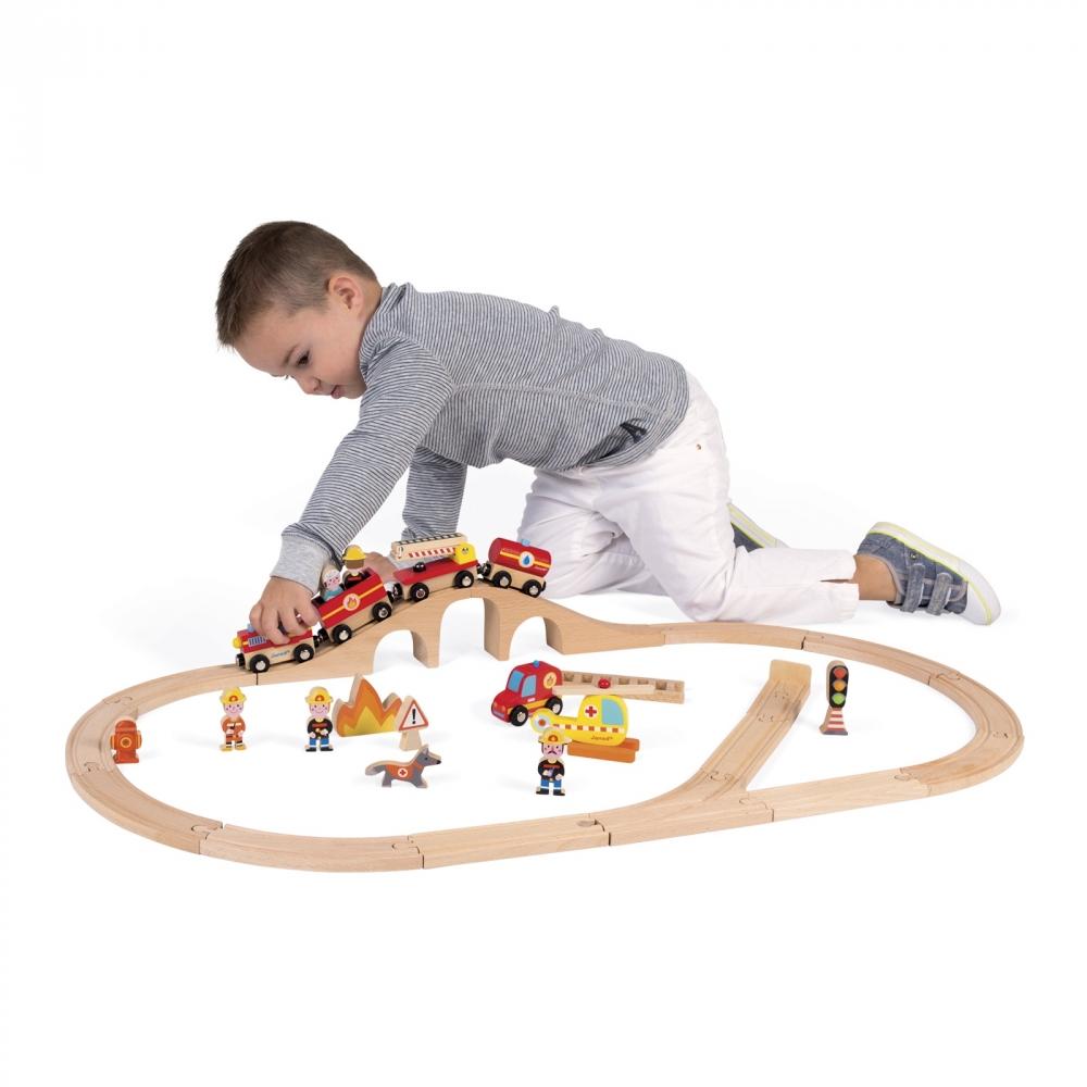 DK170007.2 Tren de bomberos express janod