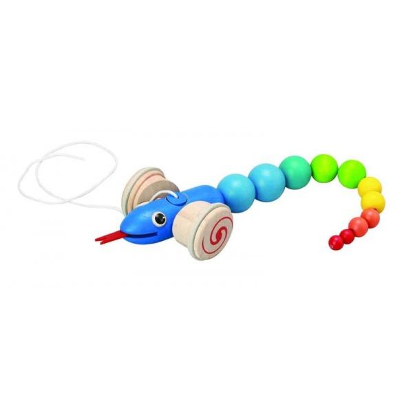 arrastre serpiente de juguete plan toys