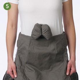 Posicion fetal mochila Boba