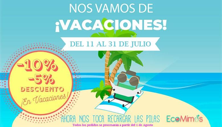 Nos vamos de Vacaciones! Volvemos el 1 de Agosto!