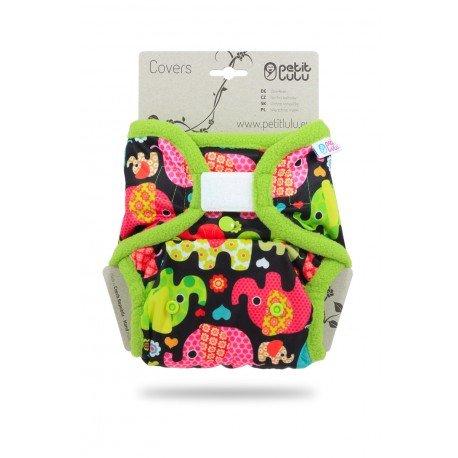 Cobertor Petit Lulu Talla Única (Velcro) - Baby Elephant (pink)