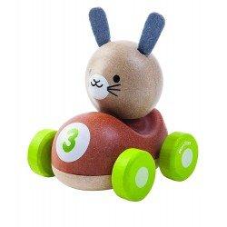 Conejo, El piloto coche de carreras Plantoys
