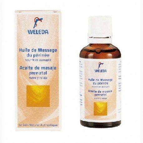 Aceite masaje prenatal perineo. Weleda