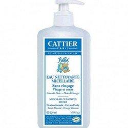 Leche limpiadora para bebé. Cattier.