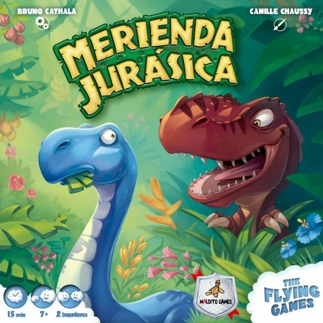 Merienda Jurásica. Maldito Games