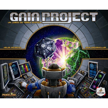 Gaia Project. Maldito Games