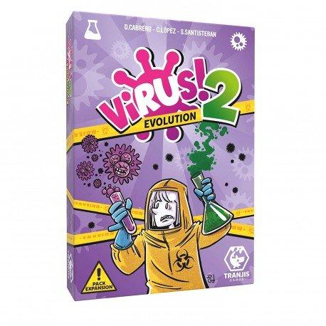 Virus 2: Evolutión! juego de cartas. Tranjis Games (Expansión)