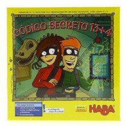 Código secreto 13+4. HABA