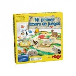 Mi primer tesoro de juegos La gran colección de juegos de HABA.