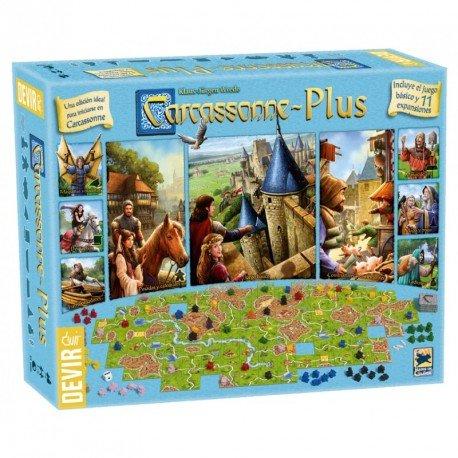Carcassonne Plus 2017. Devir