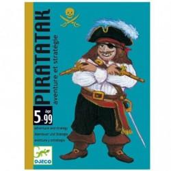 Juego Cartas Piratatak. DJECO