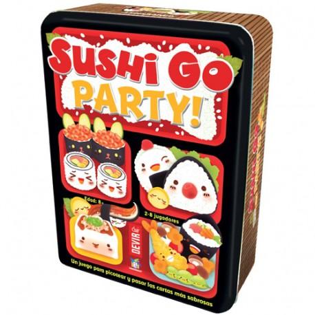 Sushi Go Party. Devir