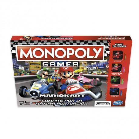 Monopoly Mario Kart. Hasbro