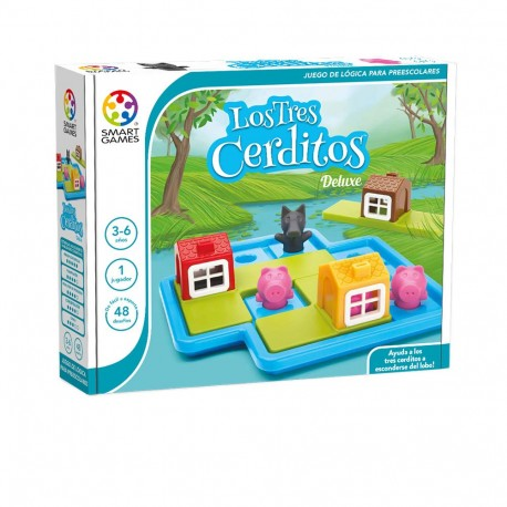 Los tres cerditos Deluxe. Smart Games
