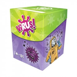Virus! Deck Box + 120 fundas premium